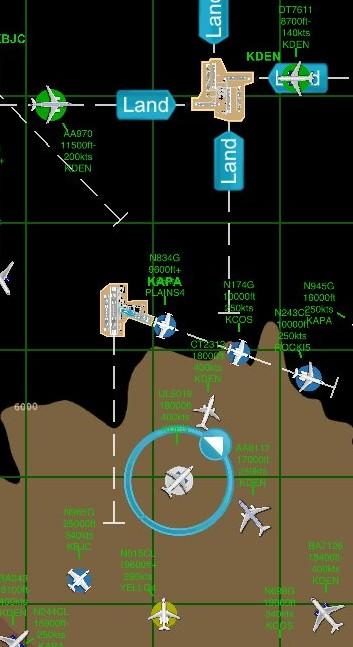 Plane highlighting